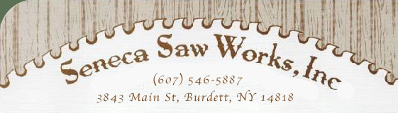 Seneca Saw Works, Burdett, NY, Saw Sales, Service, Troubleshooting